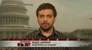 Raed Jarrar, Iraqi-American blogger and analysr